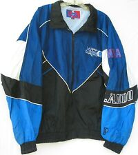 Vintage Pro Player 2 pocket zip front Orlando Magic windbreaker jacket men's XL