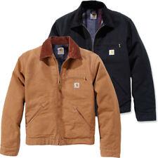 Carhartt Mens Duck Detroit Adjustable Duck Shell Jacket Coat