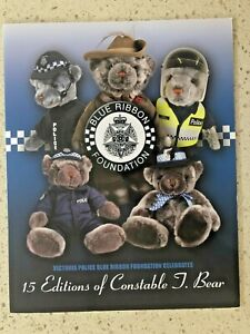 2015 15TH EDITION OF CONSTABLE J. BEAR BLUE RIBBON FOUNDATION STAMP BOOKLET