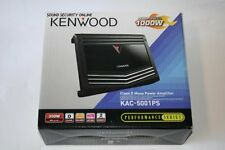 New KAC-5001PS Kenwood Car Audio 1000W Max Class D Monoblock Power Amplifier