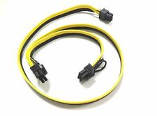 60cm PCI-Express PCIe 6pin to Dual 8pin(6+2) Video Card Power Connector Cable YS