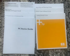 HP Media Center pc collection of manuals and guides
