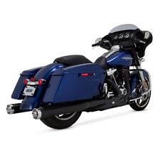 Vance & Hines Monster Slip-Ons Black, for Harley Davidson Touring 17-19