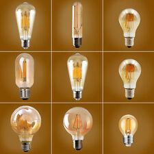 E27 Edison Vintage LED Lampe Filament Nostalgie Glühbirne Retro Bulbs Warmweiß