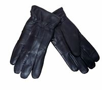Mens Or Ladies Genuine Leather Gloves With 40 Gram 3M Thinsulate Lining