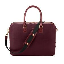 Aspinal of London Mount Street Tech Bag in Burgundy Saffiano. RRP £550.