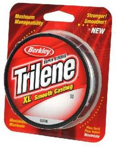 Berkley Trilene XL 12 Lb Test Fishing Line 300 Yards Clear XLFS12 NEW