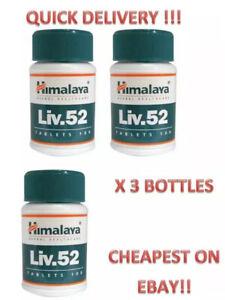 Liv.52, Liv 52, 300 Tablets of Liv52 x 3 Bottles, Official