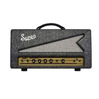 Supro 1695TH Black Magick 25W Class A Tube Tremolo Guitar Amplifier Amp Head