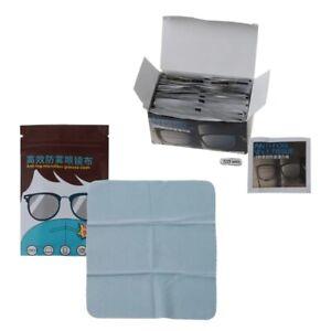 50Pc Anti-Fog Disposable Defogger Eyeglass Wipes Pre-moistened Antifog Lens Wipe
