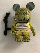"Disney Vinylmation 3"" Park Star Wars Bossk Bounty Hunter with Gun"