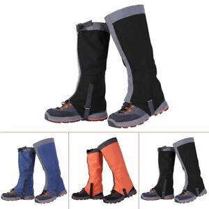 Outdoor Hiking Boot Gaiters Waterproof Snow Leg Legging Cover Climbing Hunting