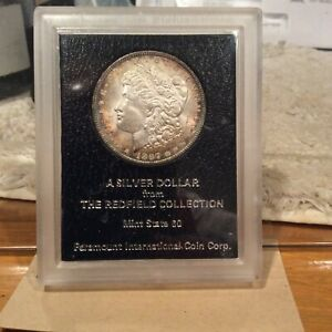 1897 Redfield Collection Morgan Dollar