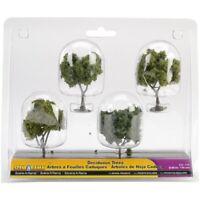 Woodland Scenics Sp4150 Deciduous Tree, 2-inch- 3-inch, 4/pack - 2 Trees 3 4pkg