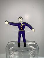 1992 Tyco Crash Test Dummies  Purple Spin Bendable Figure Preowned