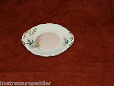 "Queen Anne China England Louise 10 1/2"" Cake Plate"
