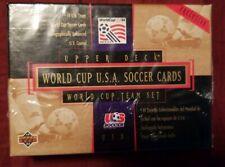 Unopened 1993 USA World Cup Soccer Team 30-Card Set Upper Deck