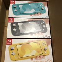 NEW Nintendo Switch Lite Console Yellow ,Turquoise Blue ,Gray Zacyan Zamazenta