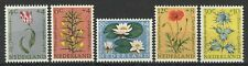 NETHERLANDS 1960 SOCIAL RELIEF FUND FLOWERS SET