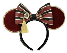Disney Parks HOLLYWOOD TOWER HOTEL Terror Minnie Ears Headband By Loungefly NEW