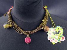 Taj Wood & Scherer Halskette Romeo & Juliet kurze Variante Kette  [07-99