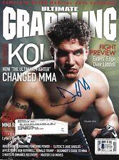 Frank Mir Signed October 2008 Ultimate Grappling Magazine BAS Beckett COA UFC 81