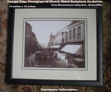 More details for vintage copy photograph of church street ballymena.w.lawrence.c1900.ah6163.
