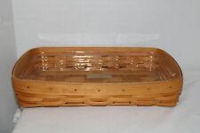 New Listing2001 Longaberger Serving Basket, Protector