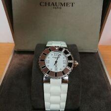 Chaumet Class One 33mm Diamond Bezel Extra Strap Full Set