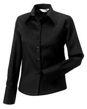 Classic Collar Single Cuff Tops & Shirts for Women