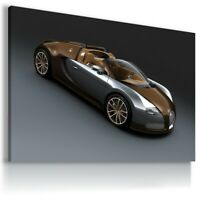 BUGATTI VEYRON  Car Large Wall Canvas Picture ART AU567 MATAGA  UNFRAMED-ROLLED