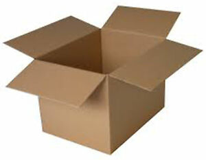 """Cardboard Boxes - 25 x 25 x 25 cm 10""""  Square Packaging Box Brown 1,5,10,50"""