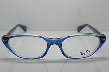 NEW Authentic Ray Ban RB 5242 5111 Blue Crystal 51mm RX Eyeglasses