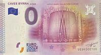 BILLET 0  EURO CAVE BYRRH  FRANCE  2015  NUMERO 100