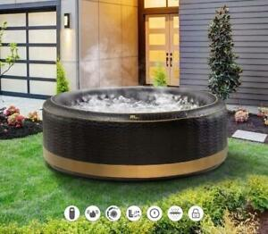 Luxury EXOTIC 6 Bathers Inflatable Hot Tub Spa Jacuzzi Home Holiday Family Fun