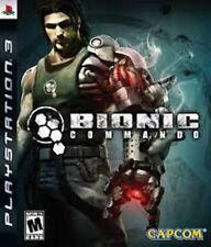 BIONIC COMMANDO GIOCO USATO PER PLAYSTATION 3 PS3  ITALIANO