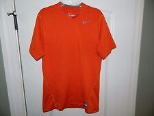 Men's Nike Pro Orange Athletic Shirt Size Small