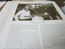 Motorrad Archiv Promininz 4130a Großer Bergpreis Deutschland 1935 Babl/Beer