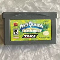 Power Rangers Time Force Nintendo Gameboy Advance Cartridge Cleaned & Tested GBA