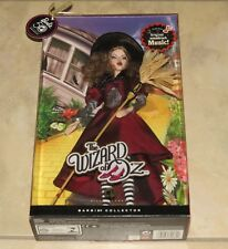 NEW BOX Wizard of Oz Wicked Witch of East Barbie Doll Silver Label 50 Anniv NIB