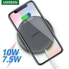 Ugreen 10W Wireless Charger + Cable Qi Fast Wireless Charging Pad For Phone
