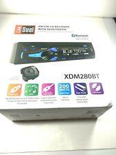 Car Dual Xdm280Bt 1 Din Am/Fm Cd/Mp3 Player Car Receiver Usb Aux Input Bluetooth