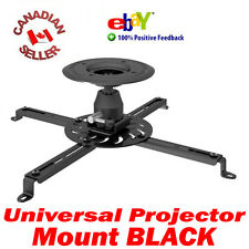 Universal HD LED LCD Video Projector Ceiling Mount Black Colour Max 55 Lbs