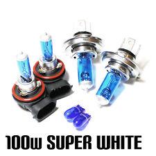 FORD Transit 2.2 100w SUPER WHITE XENON HID principale/Dip/Nebbia/Laterale Lampadine Set