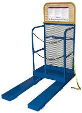 Stockpicker Work Platform 30w X 20l 60 Metal Back