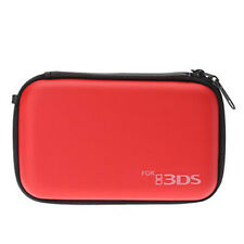 Game Travel Carry Airform Pouch Skin Case/Cover For Nintendo 3DS Console ~ Red