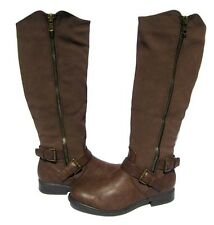 New Women's Fashion Boots Brown PT-31 Shoes Winter Snow Fur Lined Ladies size 11