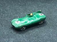 CLEAN! Vintage Lesney Moko Matchbox #41-B Jaguar D Type Gray Wheels 1960
