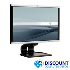 "HP 22"" Flat Screen Monitor Desktop Computer PC LCD (Grade B) - Lot(s) available"