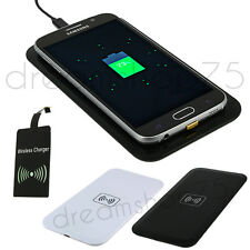 CHARGEUR SANS FIL WIRELESS QI INDUCTION + PATCH RECEPTEUR / SAMSUNG, NOKIA, SONY